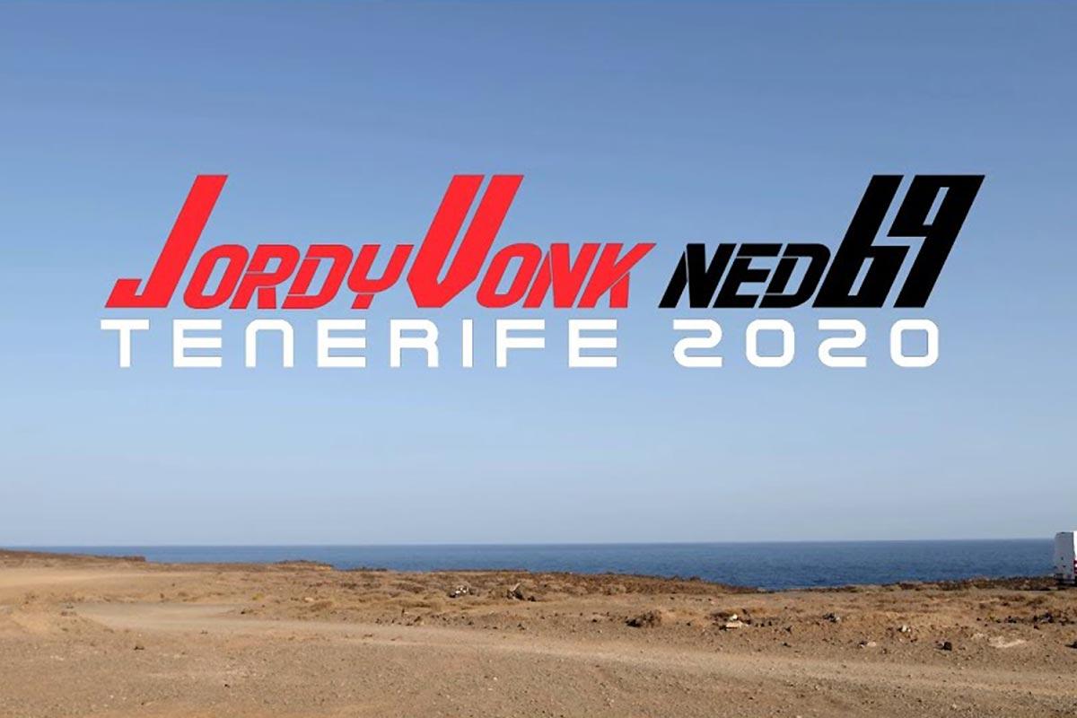 L'hiver 2020 de Jordy Vonk à Tenerife