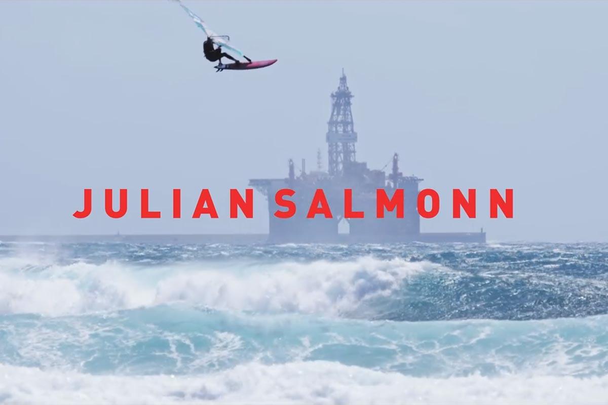 Julian Salmonn en action à El Medano