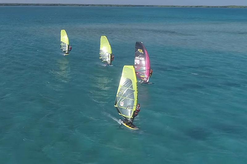 Du foil à Bonaire