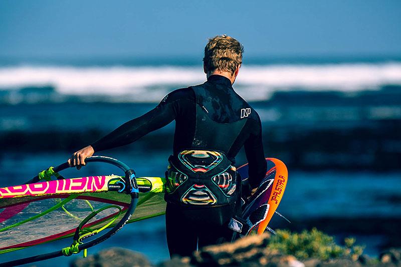 Justin Denel, une vie dédiée au windsurf