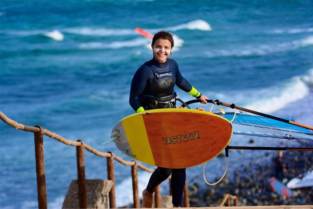 L'été à Gran Canaria de Justyna Sniady