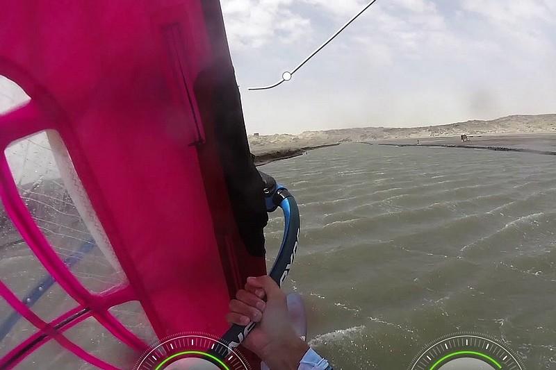 Jacques van der Hout sur le canal de Lüderitz