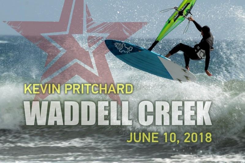 Kevin Pritchard à Waddell Creek