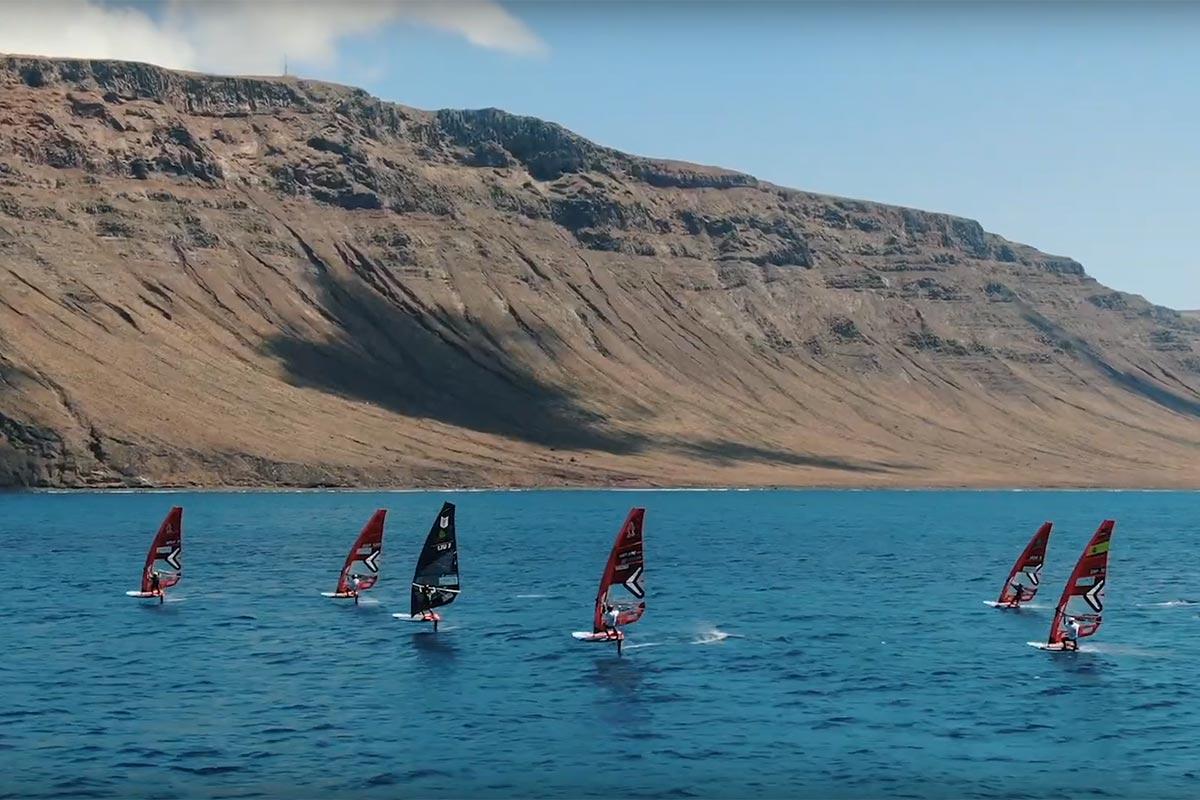 Lanzarote Windfoil Challenge, la vidéo