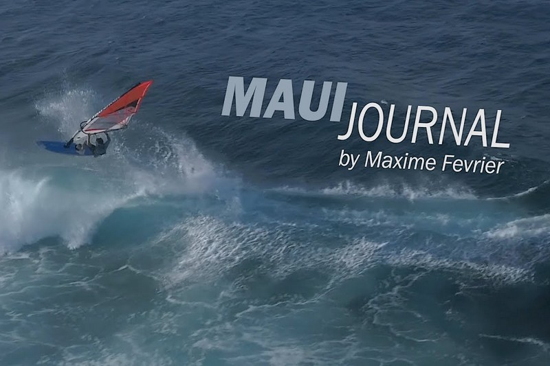Windsurfing in Winter - Maui 18 - Maxime Février