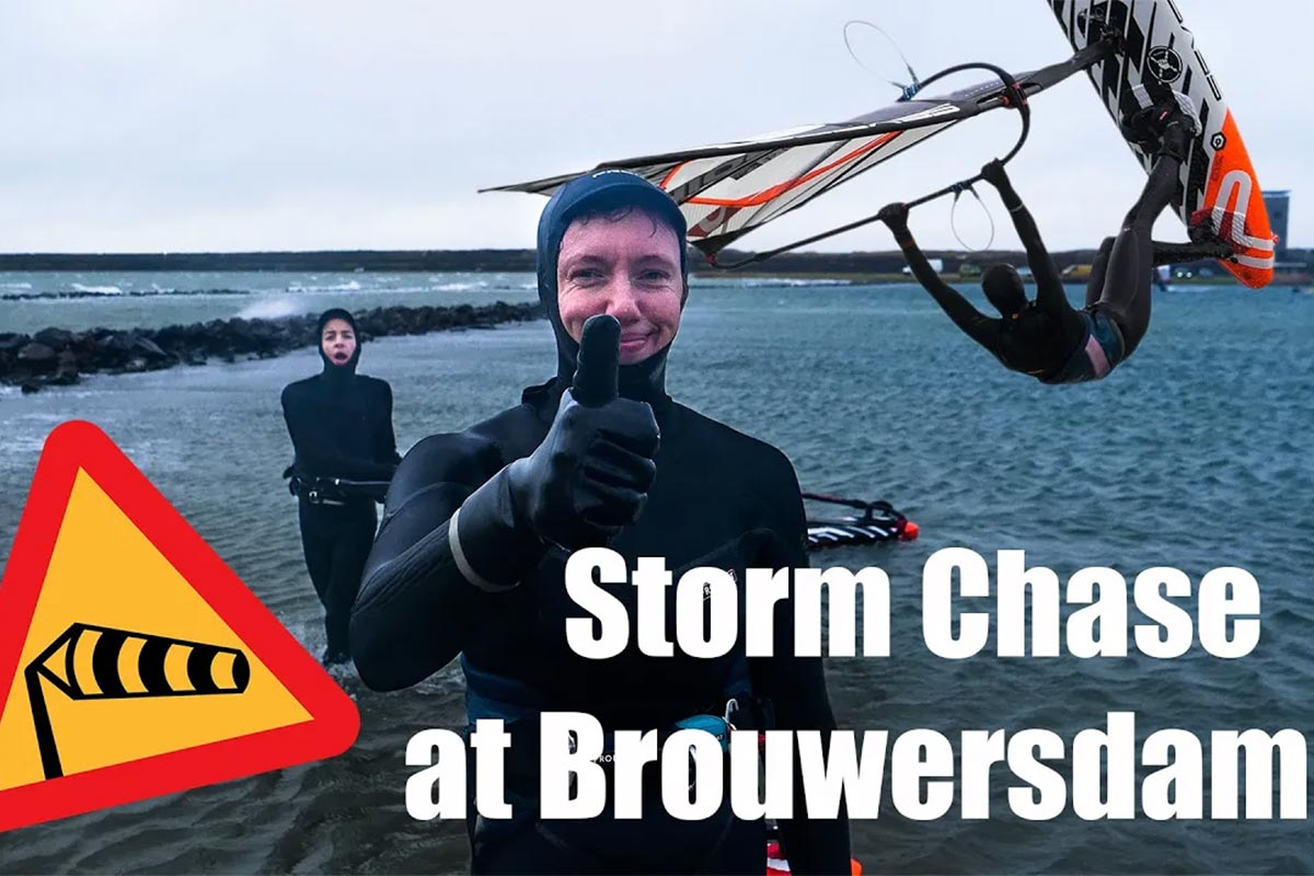 Une session Storm Chase à Brouwersdam !