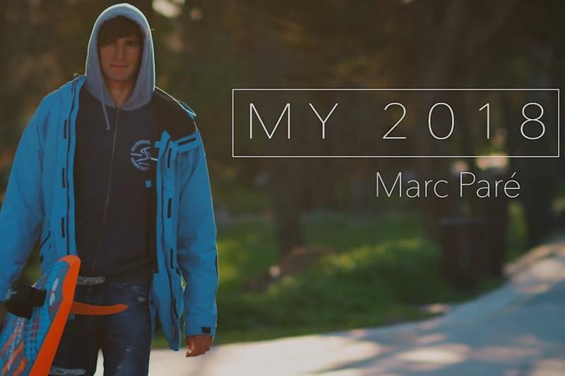 L'année 2018 de Marc Paré