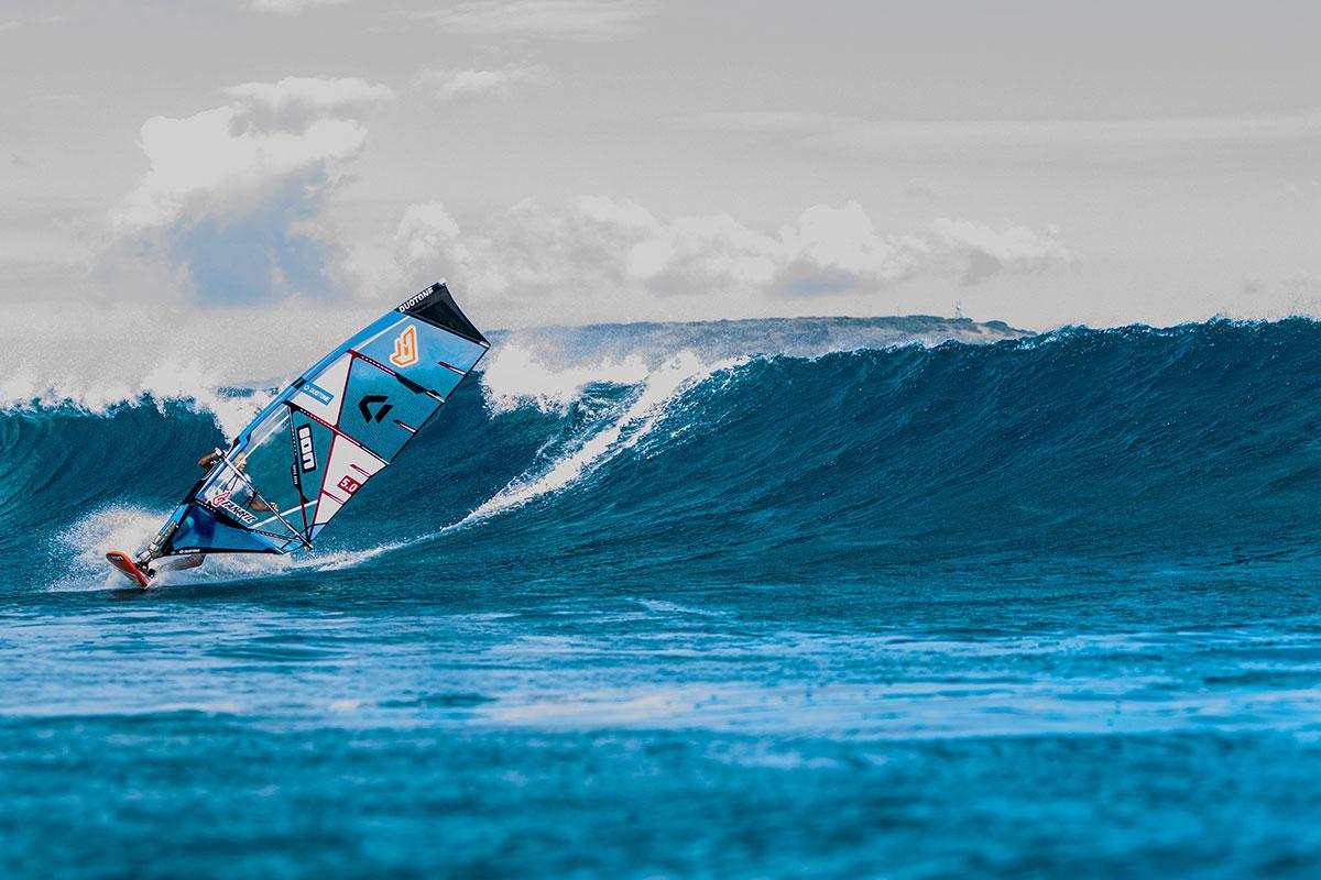 Marco Revel en action à Oahu