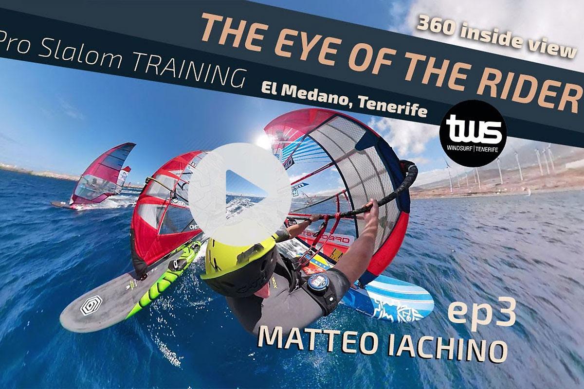 Une manche à Tenerife à 360° avec Matteo Iachino !
