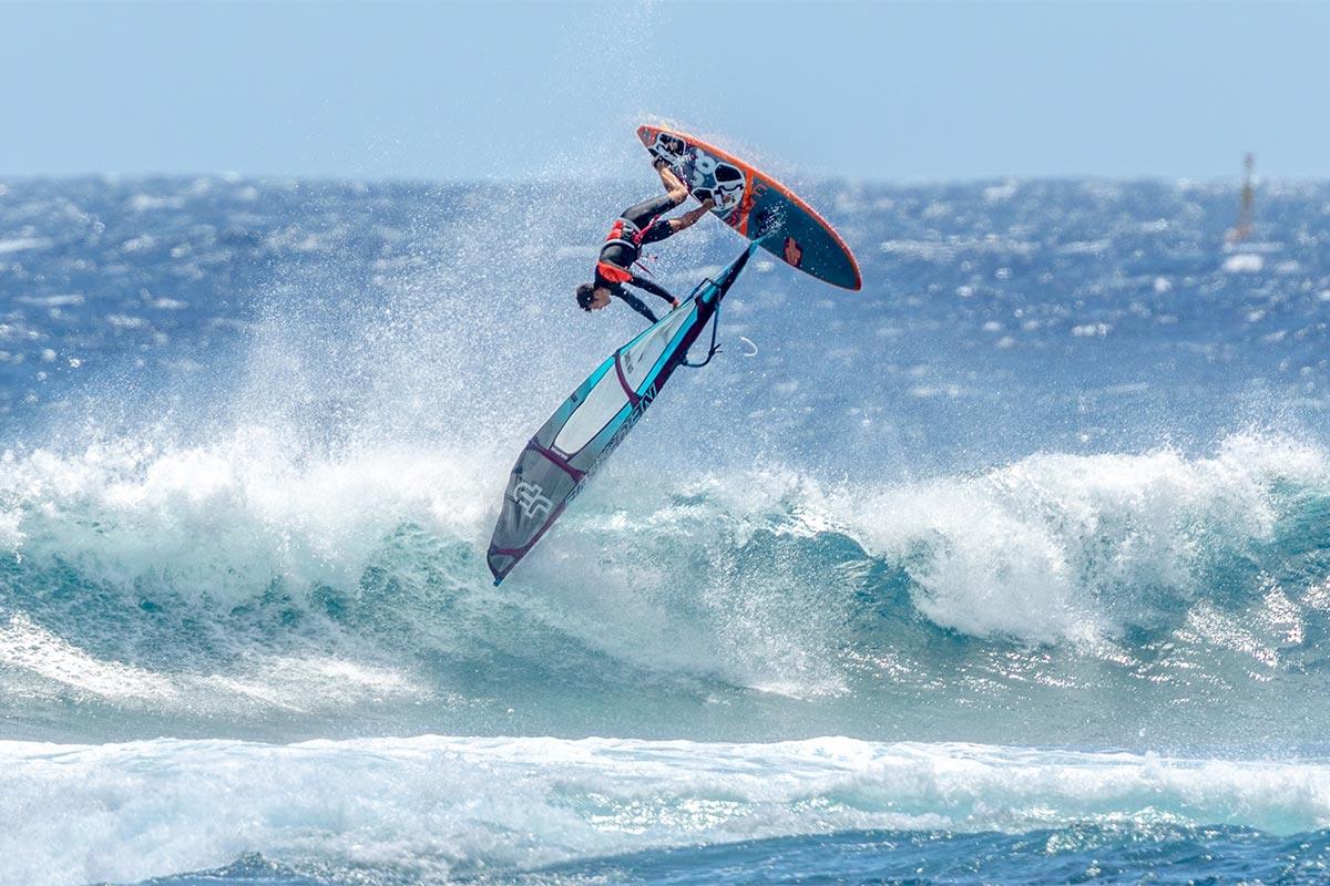 Miguel Chapuis en action à La Réunion