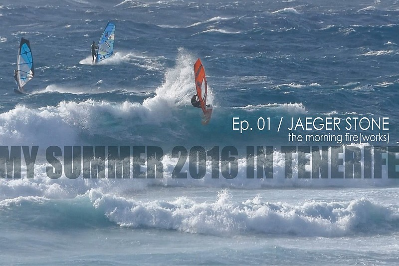 My summer 2016 in Tenerife - Ep. 1 - Jaeger Stone