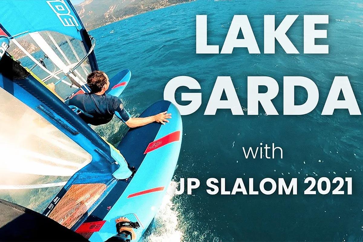 Andy Laufer et Nico Prien sur le lac de Garde