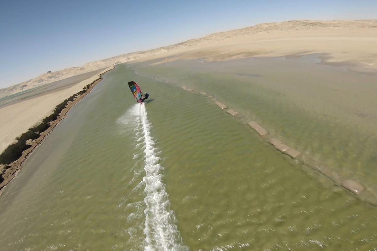 Le canal de Lüderitz comme vous ne l'avez jamais vu