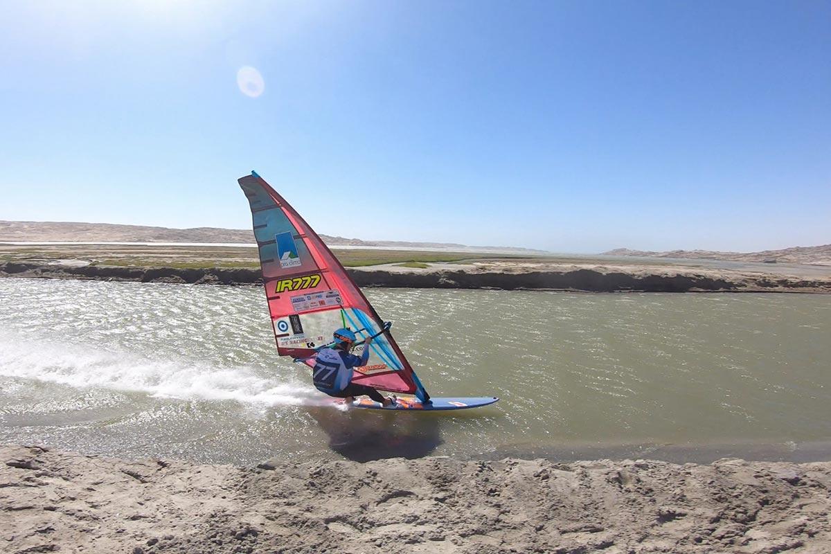 Un run à Lüderitz avec Oisin van Gelderen