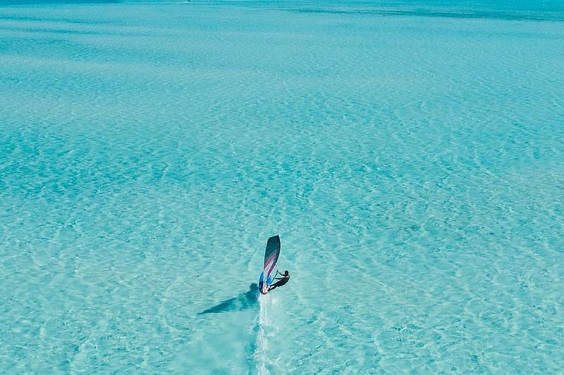 Philippe Bru en action à Bonaire