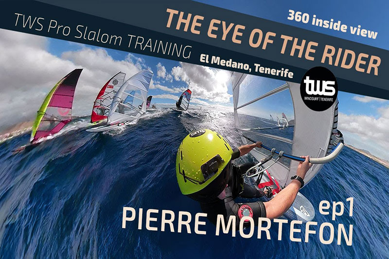 Pierre Mortefon en mode 360° à Tenerife