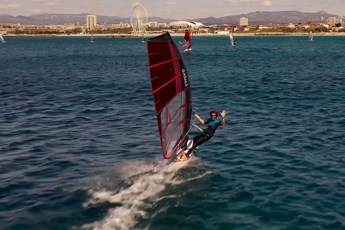 Une belle session à Marseille vue du ciel
