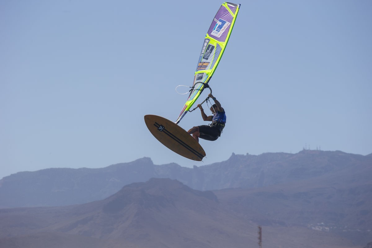 Ricardo Campello sur le Gran Canaria Wind & Waves Festival
