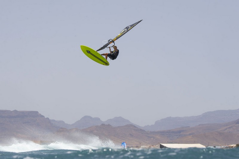 Ricardo Campello en action à Gran Canaria