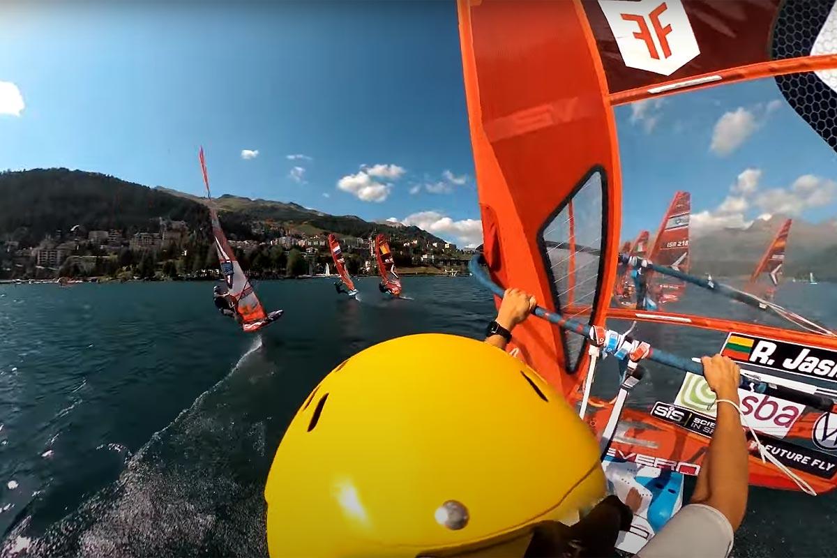 Du slalom en iQFOil avec Rytis Jasiunas