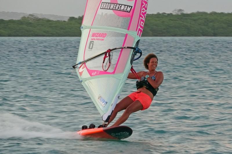 Sarah-Quita Offringa à Bonaire