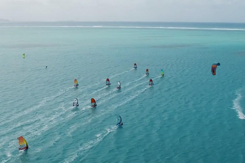 Du slalom à l'Île Maurice