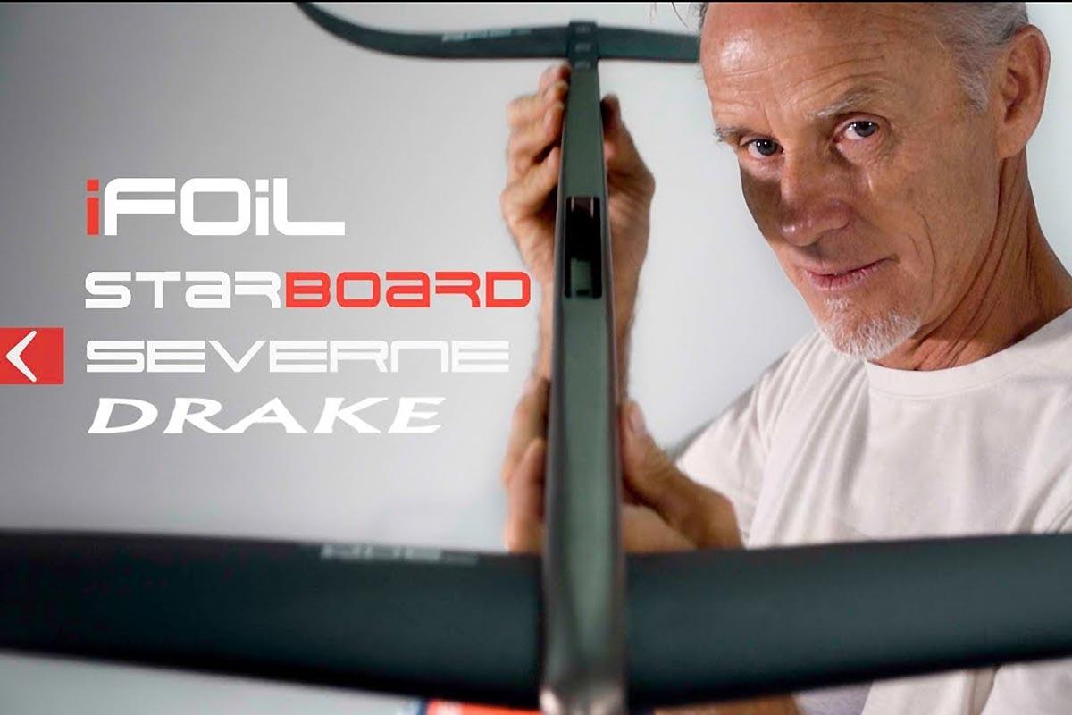 Le support Starboard iFoil par Svein Rasmussen