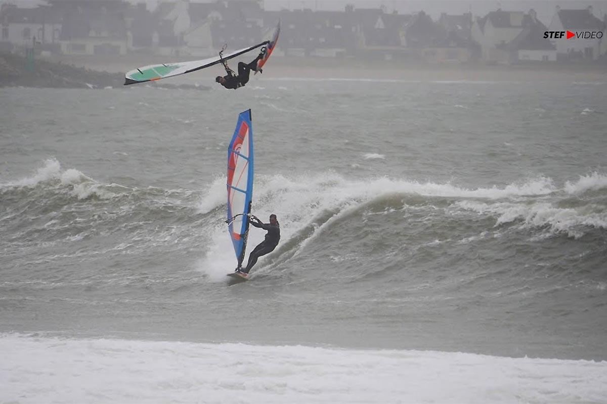 La tempête Justine dans le Morbihan
