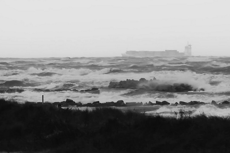 Storm Herwart @ the baltic sea