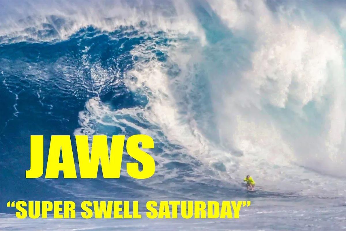 De nouvelles images du Super Swell Saturday !