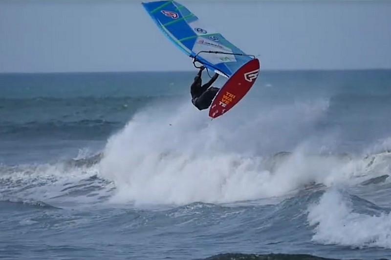 Du surf sailing à La Torche