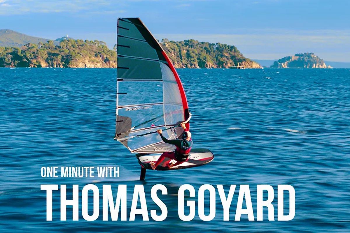 Une minute avec Thomas Goyard