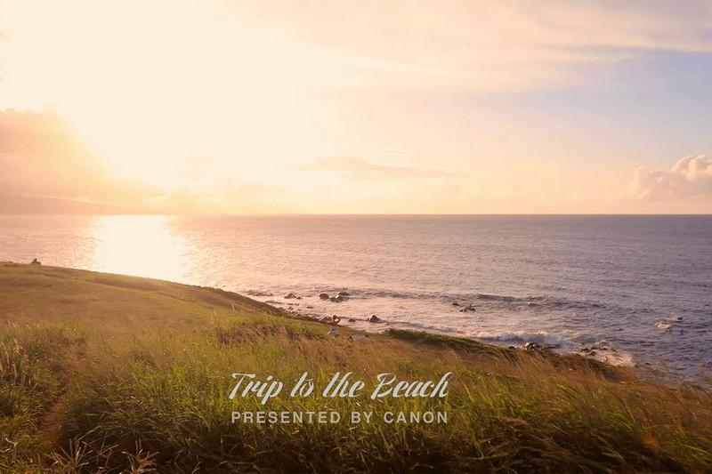 Trip to the Beach avec Canon