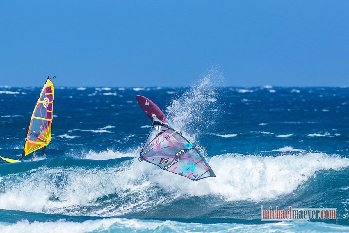 Victor Fernandez en action à Tenerife