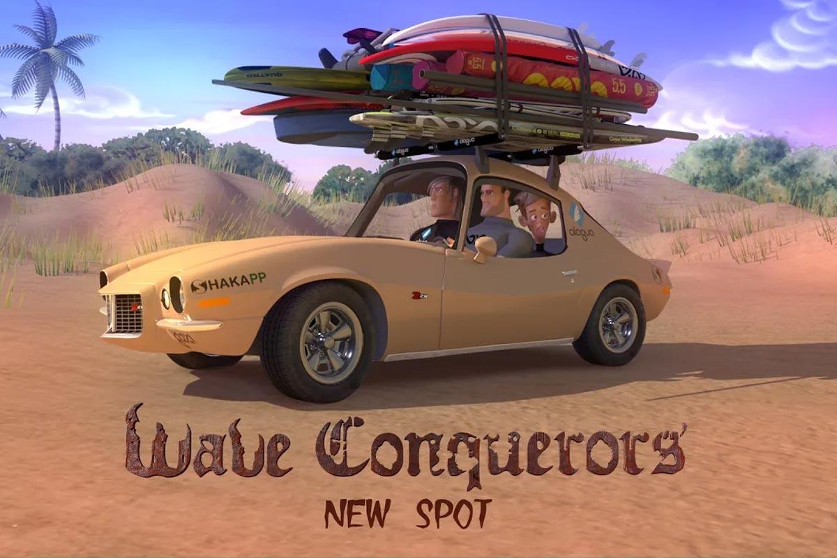 Wave Conquerors, New Spot