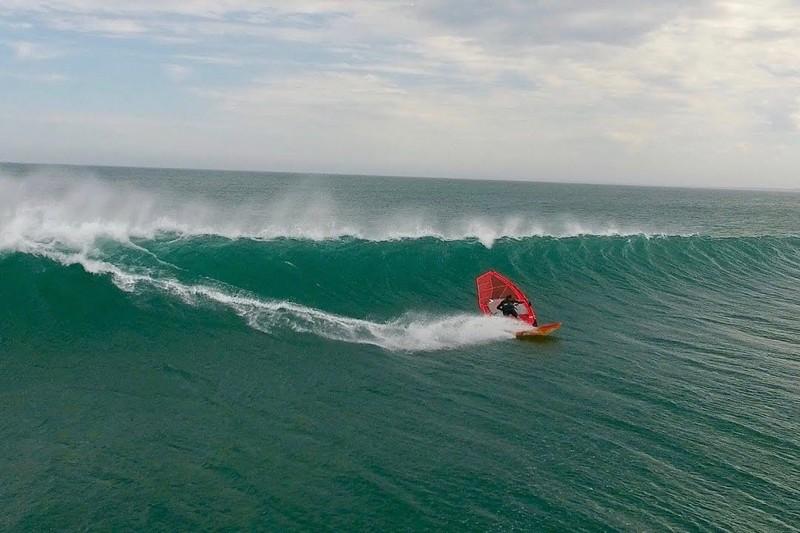 Windsurfing Gerroa 2016
