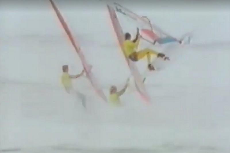 Windsurfing World Cup La Torche 1986
