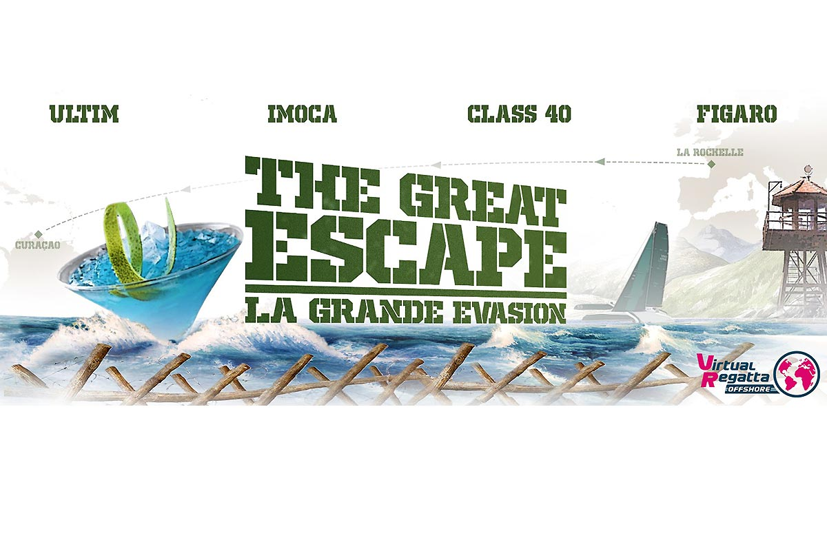 La Grande Evasion avec Virtual Regatta