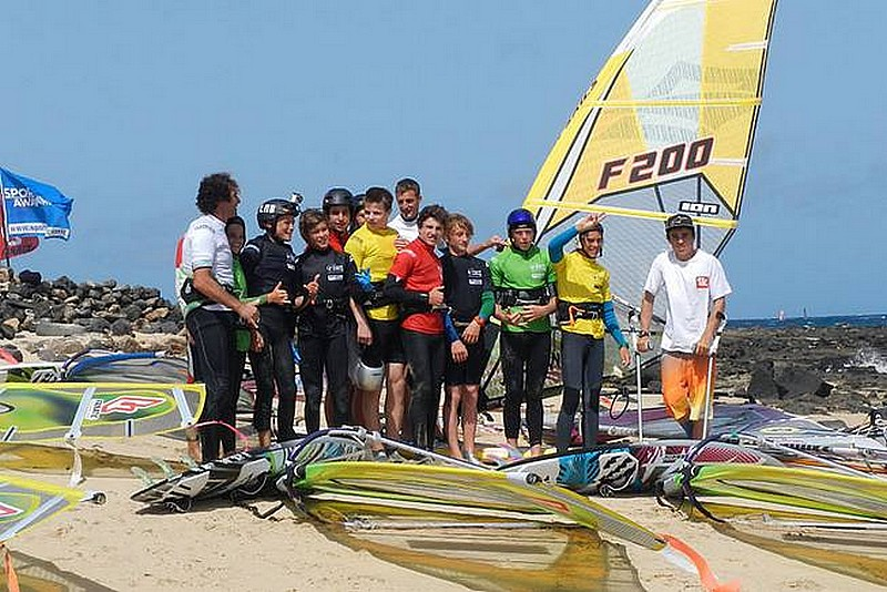 Wave-Sailing Windsurfing Camp Lanzarote