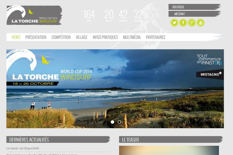 La Torche Windsurf 2014 en ligne