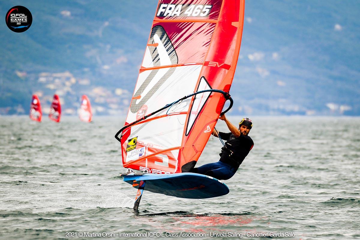 Un vent léger, du slalom et des français toujours là !